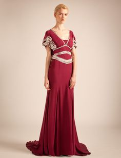 "I want this Dress, I absolutely Love it Long ""Jean"" Dress, Temperley London"