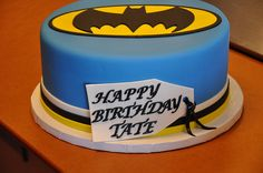 Batman Cake by Designer Cakes By April