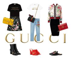 """it's all about gucci"" by skblm ❤ liked on Polyvore featuring Gucci and Boohoo"