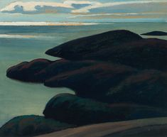 Lawren Harris - North of Lake Superior 12 x 15 Oil on board (1923) Lake Superior, Painting, Oil, Board, Paintings, Draw, Sign, Cooking Oil, Drawings