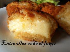 Croquetas de queso de Julia Child