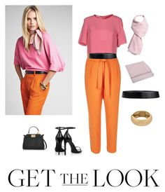 """""""Untitled #10"""" by manar-abdullah ❤ liked on Polyvore featuring Patrizia Pepe, River Island, Louis Vuitton, Jil Sander, Yves Saint Laurent, Fendi, GetTheLook and airportstyle"""