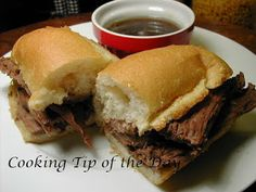 Cooking Tip of the Day: Recipe: Crock Pot French Dip