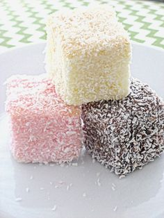 Vintage Movement: Neopolitan Lamington Recipe
