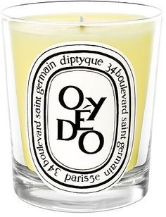 ShopStyle: Oyedo Candle, my favorite Diptyque fragrance. From France.