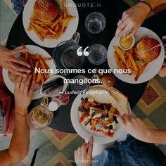 """Ludwig Feuerbach """"Nous sommes ce que nous mangeons."""" Photo by Dan Gold / Unsplash"""
