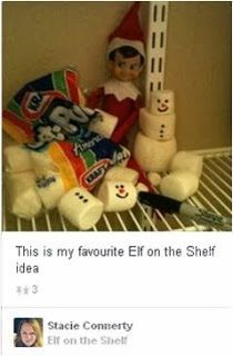 Five Elf on the Shelf ideas: Funny, rated G, and