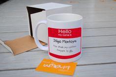 Hello My Name Is Inigo Montoya Prepare To Die tasse  ♥ numéro de suivi inclus ♥ Envoyé dans une boîte protectrice épaisse. ♥ 11 oz. ♥ tasse en céramique