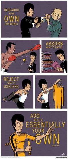 When people talk about Bruce Lee they mostly talk about his amazing skills as a martial artist, how great his movies are or maybe they quote one of his witty philosophical phrases. They may also ta...