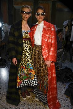 Backstage with #StellaJean at #MFW.