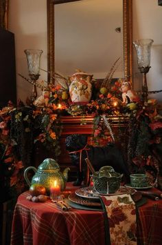 Thanksgiving n Fall :: Fall Tablescape by Judith image by sangaree