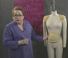 Pad a Dress Form to Your True Body Shape - Threads