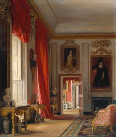 British Style — via-appia:   The Carved Room, Petworth House,...