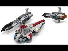 Lego Star Wars AT-TE (Micro) + INSTRUCTIONS - YouTube