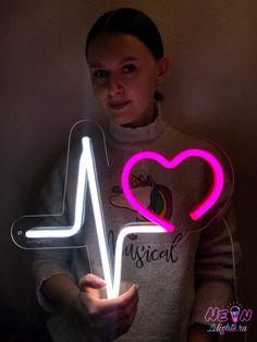Size: 36x33. Color: white and pink. Worldwide shipping.  #neon #neonlights  #neonsigns #party  #heart  #love  #customneonsign #neondecor #neonforwedding #neonforbusiness #pinkneon  #neonsupplier #neonfactory #неоновыевывески #неон #valentines #valentinesday #birthday Custom Neon Signs, Led Neon Signs, Presents For Girls, In A Heartbeat, Handmade Gifts, Shapes, Messages, How To Make, Pink