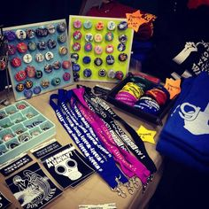 I had a bunch of new geeky swag at LeakyCon.  #LeakyCon #fandom