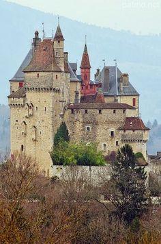 Medieval Château de Menthon ~ Menthon Saint-Bernard, Haute Savoie, France