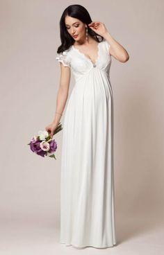 3c49c22ad vestidos de fiesta largos para embarazadas - Buscar con Google Vestidos  Boda Civil