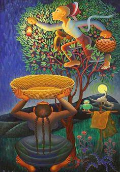 Turkish Art, Digital Illustration, Arts And Crafts, Artsy, Miniatures, Flowers, Painting, Color, Ideas