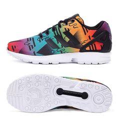 Оригинал Новое Прибытие 2016 Adidas Originals ZX FLUX мужская Печатных Скейтбординг Обувь Кроссовки бесплатная доставка купить на AliExpress
