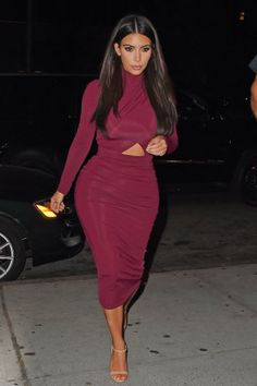 Kim seen out in New York City on Aug. 11, 2014.