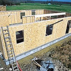 Conseils et étapes d'une construction bois Easy Wood Projects, Aesthetic Room Decor, Woodworking Projects, How To Plan, Construction Garage, Aide, Buildings, Container, Houses