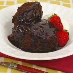 Devil's Food Pudding Cake
