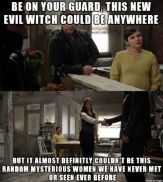 OUAT - Snow has no common sense at times... @Naomi Taylor this is real and also hereditary because Henry doesn't have common sense either