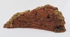 The Evolving Tapestry: He/She  1967-68. Linen and silk. #weaving #fiber #fibre