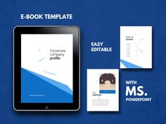 Bundle 11 eBook Template Pages PowerPoint Template, Bullet Journal Template, Project Prop Keynote Template, Brochure Template, Company Presentation, Journal Template, Cover Template, Brochure Design, Design Templates, Ad Company, Microsoft Powerpoint