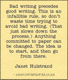 This is excellent advice. Don't forget; revision is the real writing. The first draft is just your final outline.