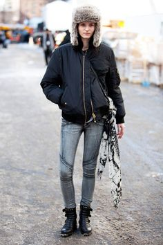 street style: New York Fashion Week fall '14...