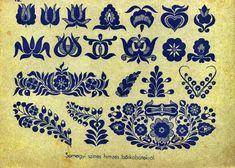 Hungarian embroidery tulip pattern (Possible tattoo idea . Embroidery Tattoo, Chain Stitch Embroidery, Embroidery Stitches, Embroidery Patterns, Hand Embroidery, Hungarian Tattoo, Hungarian Embroidery, Stitch Head, Last Stitch