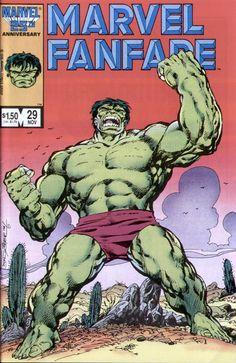 Byrne Robotics: JBF Reading Club: Marvel Fanfare 29 (Hulk SPLASH! Rrrargh!)