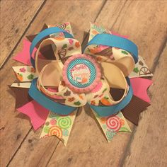 One of a kind! Sweeter than pumpkin pie hairbow made with designer ribbon!! Get ready for Pumpkin everything!! Claim it now!!! #bowtifulblessings #bbgifts #etsy #etsyseller #etsyshop #etsyusa #handmade #oneofakind #designer #hairbow #bow #shopLIBERTY #shoplocal #shopsmall #bow #girlfashion #prettiest #tbb #fall #fallyall #Thanksgiving #pumpkin #pumpkinpie #sweet
