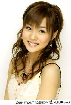 Niigaki Risa another former leader.  Great singer and kuwaii to death.