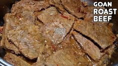 Goan Roast Beef | No Oven Roast Beef | Pot Roast Recipe | Beef Roast Rec...