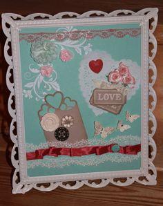 Stampin' Up Artisan Embellishment Kit with Vintage Frame as Old as Me!