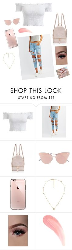 """""""Fashionova jean👖💓"""" by teabear-xoxo ❤ liked on Polyvore featuring Cello, So.Ya and Gucci"""