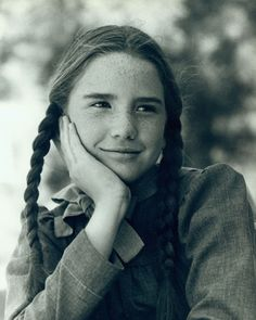 Howell, Michigan's newest resident. Welcome to the Mitten State!  Little House on the Prairie.  Melissa Gilbert