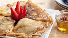 Crepes Recipe - 4 Kinds of Fillings - YouTube