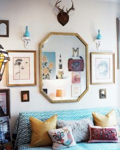 ask Mr. Kate: organizing and decorating a small space