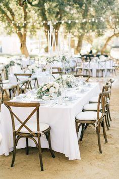 Dreamy al fresco reception decor: http://www.stylemepretty.com/california-weddings/silverado/2016/05/10/whimsical-al-fresco-vineyard-wedding/ | Photography: Jenna Bechtholt -  http://jennabechtholtphotography.pixieset.com/