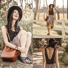 August Street  Black Dip Back Dress, Choies Black Leather Lace Up Flats