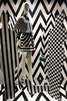 Pinko, Milan,  January 2013 Op Art