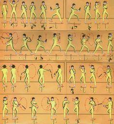 gutsanduppercuts: Traditional nunchaku kata.