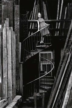 © Jeanloup Sieff  This def. caught my eye... OHH the contrast of it all!