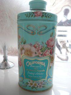 I wish they would bring back this line - the California liquid powder was awesome!  (aw)  Vintage Avon 1977 California Perfume Company Talc Powder Tin