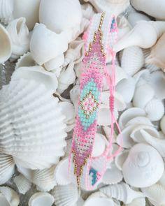 Pink Jewelry, Etsy Jewelry, Jewelry Shop, Jewelry Stores, Jewelry Design, Bohemian Bracelets, Colorful Bracelets, Bohemian Jewelry, Pin Pin
