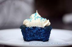 blue velvet cupcake michaels-birthday